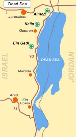Где находится мёртвое море в какой стране